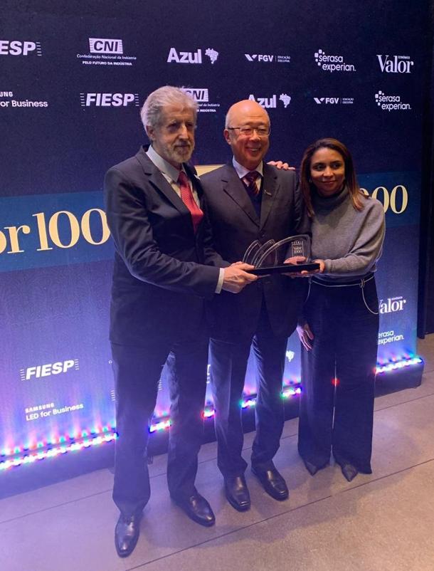 Luiz Ildefonso Simões Lopes | Brookfield Brasil | NTS é premiada na 19ª edição do Prêmio Valor 1000